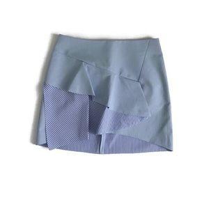 Zara Pinstripe Mini Skirt